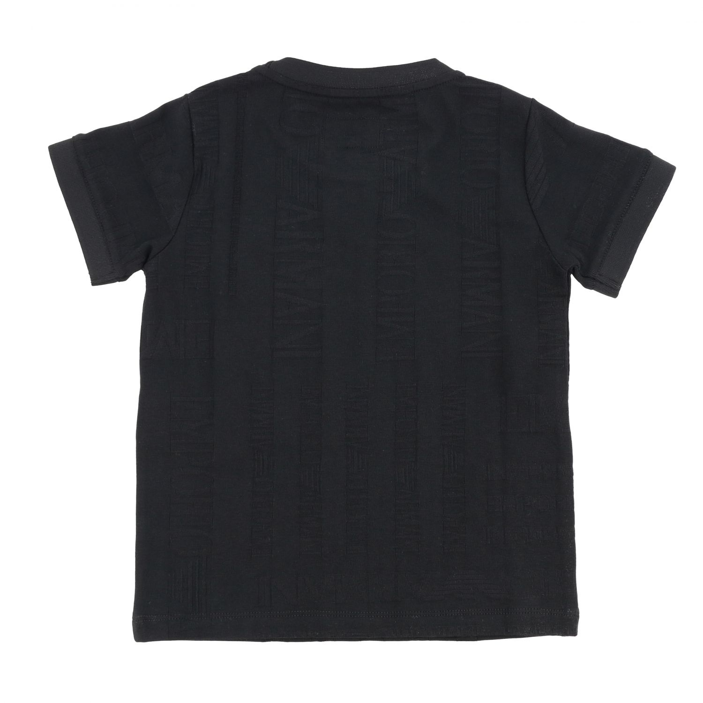 T-shirt kids Emporio Armani black 2