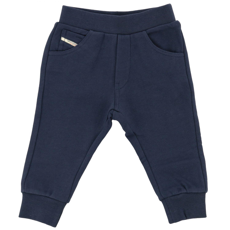 Pantalon de jogging Diesel avec logo bleu 1