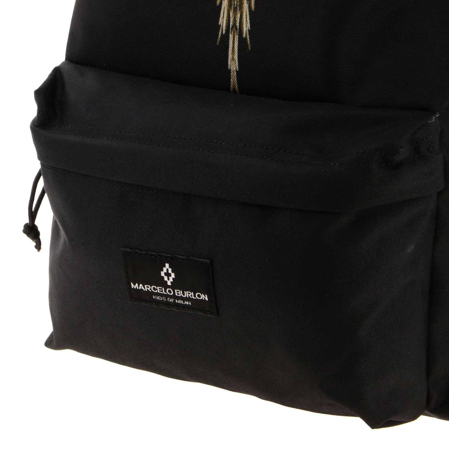 Duffel bag kids Marcelo Burlon black 4