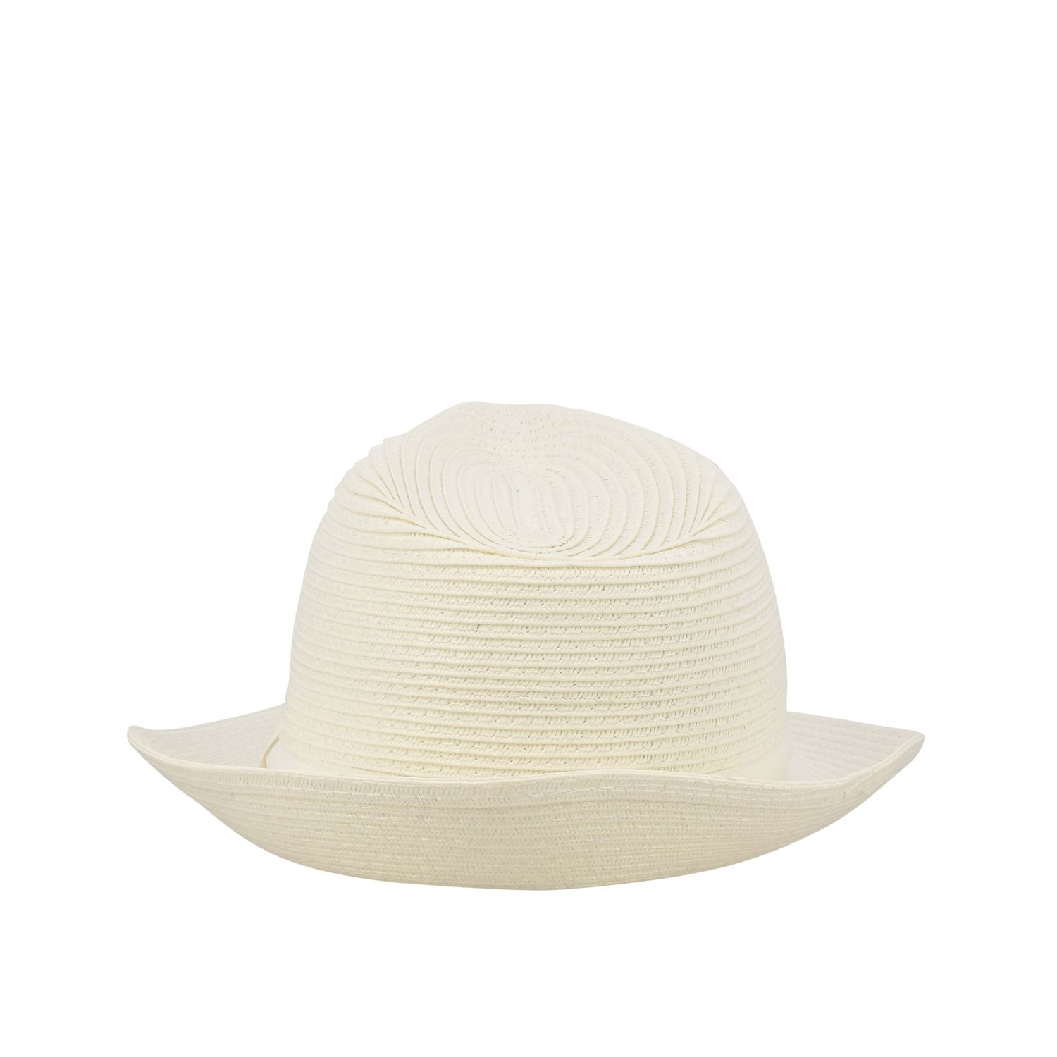 Hat Fay: Straw Fay hat with ribbon white 2