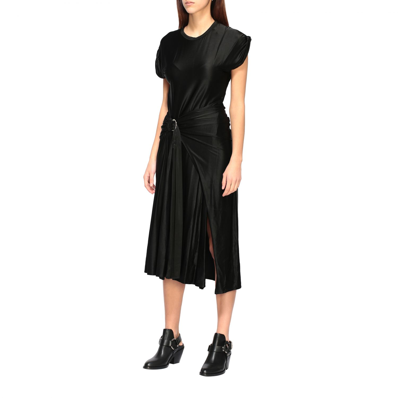 Dress Paco Rabanne: Dress women Paco Rabanne black 2