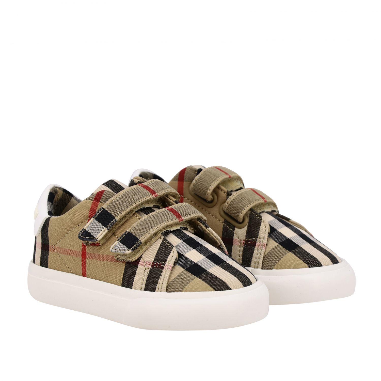 Shoes kids Burberry beige 2