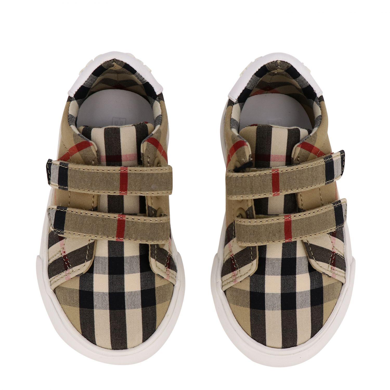 Shoes kids Burberry beige 3