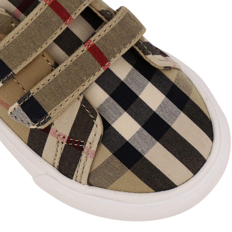 Shoes kids Burberry beige 4