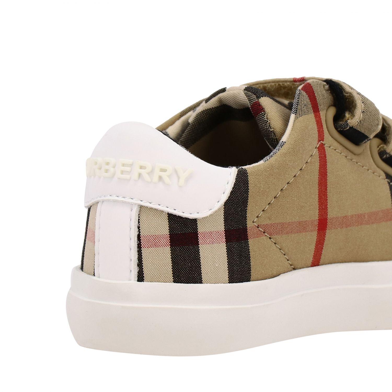Shoes kids Burberry beige 5
