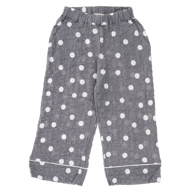 Pantalone Douuod: Pantalone Douuod a pois grigio 1