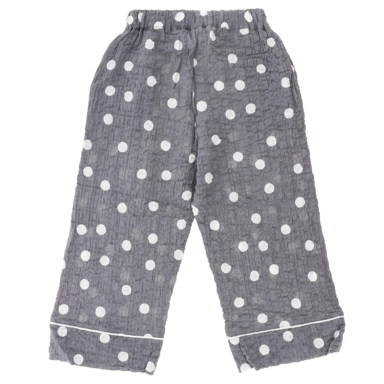 Pantalone Douuod: Pantalone Douuod a pois grigio 2