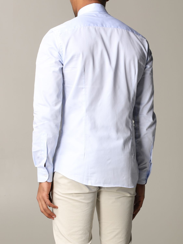 Shirt Fay: Shirt men Fay sky blue 3