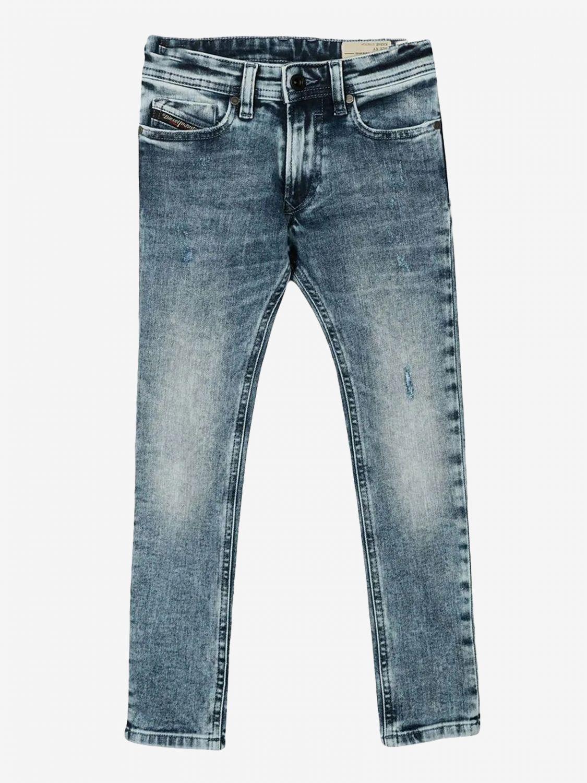 Jeans Diesel: Jeans Diesel a 5 tasche bianco 1