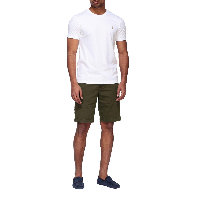 T-shirt Polo Ralph Lauren a girocollo con logo bianco 2
