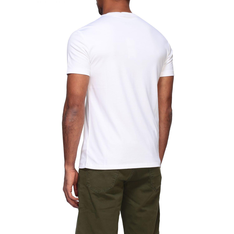 T-shirt Polo Ralph Lauren a girocollo con logo bianco 3