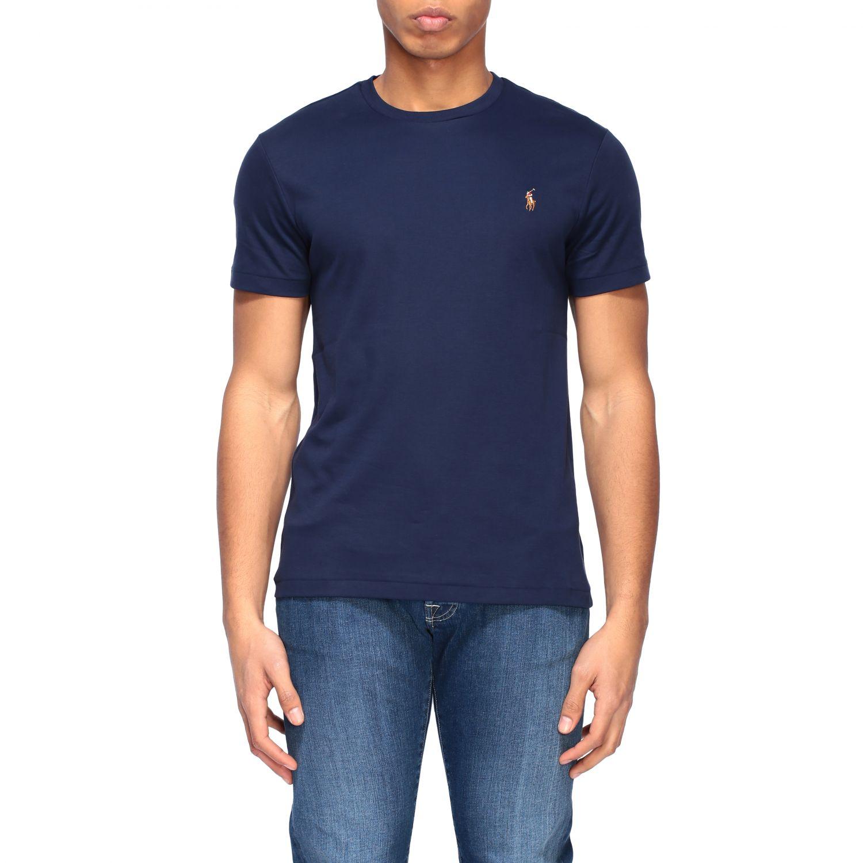 Футболка Polo Ralph Lauren: Футболка Мужское Polo Ralph Lauren темно-синий 1