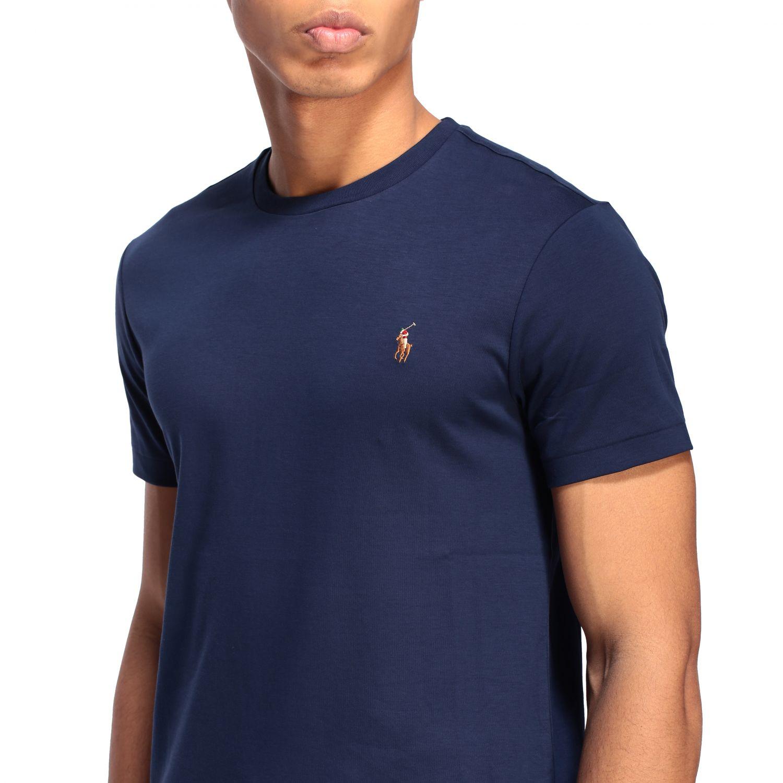 Футболка Polo Ralph Lauren: Футболка Мужское Polo Ralph Lauren темно-синий 5