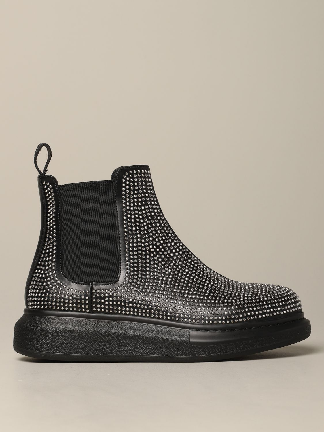 Flat ankle boots Mcq Mcqueen: Flat ankle boots women Mcq Mcqueen black 1
