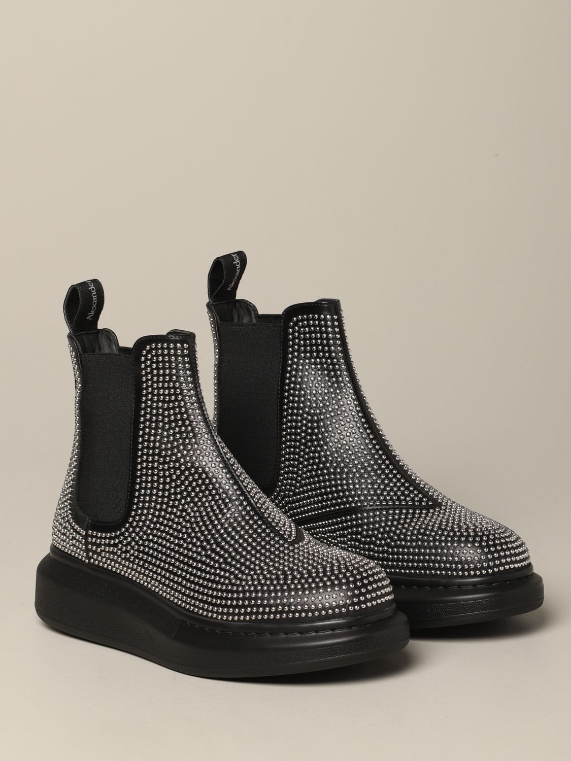 Flat ankle boots Mcq Mcqueen: Flat ankle boots women Mcq Mcqueen black 2