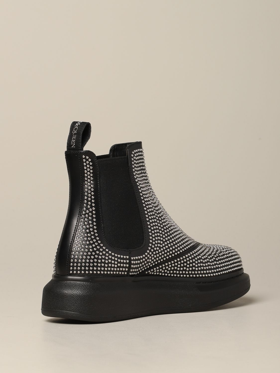 Flat ankle boots Mcq Mcqueen: Flat ankle boots women Mcq Mcqueen black 5