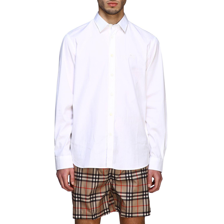 Shirt men Burberry white 1