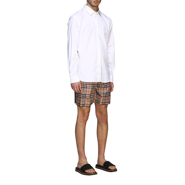 Shirt men Burberry white 2