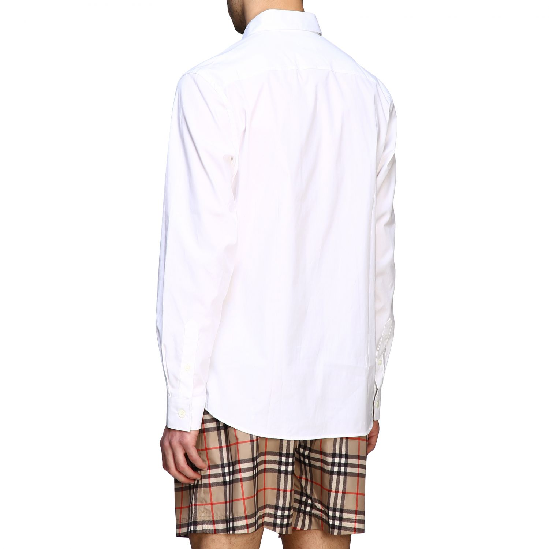 Shirt men Burberry white 3