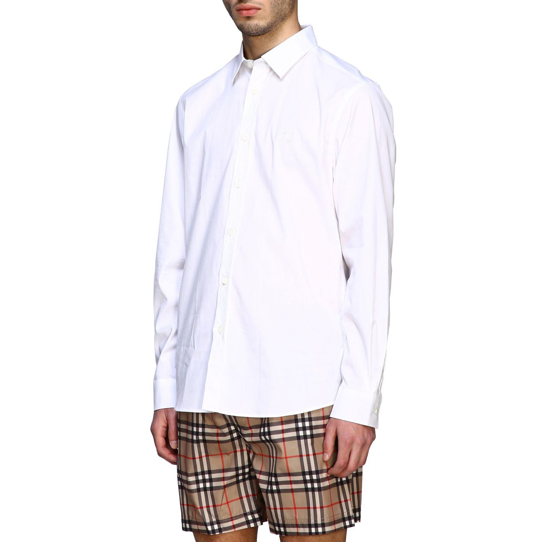 Shirt men Burberry white 4