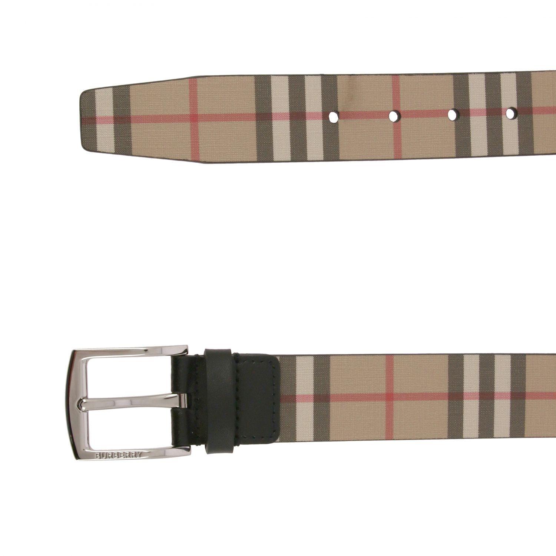 Cintura Burberry in pelle check fantasia 2
