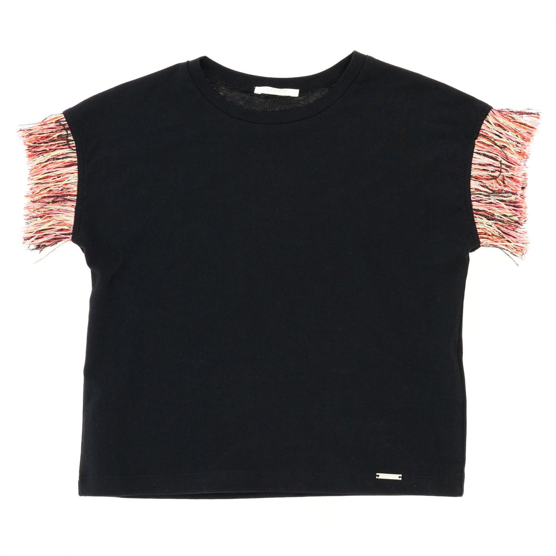 T-shirt kids Liu Jo black 1