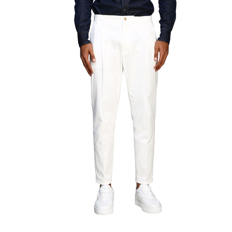 Pants Dolce & Gabbana: Classic Dolce & Gabbana trousers with logo white 1