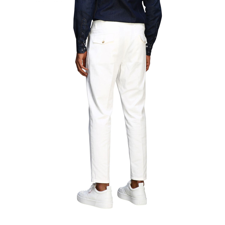 Pants Dolce & Gabbana: Classic Dolce & Gabbana trousers with logo white 2