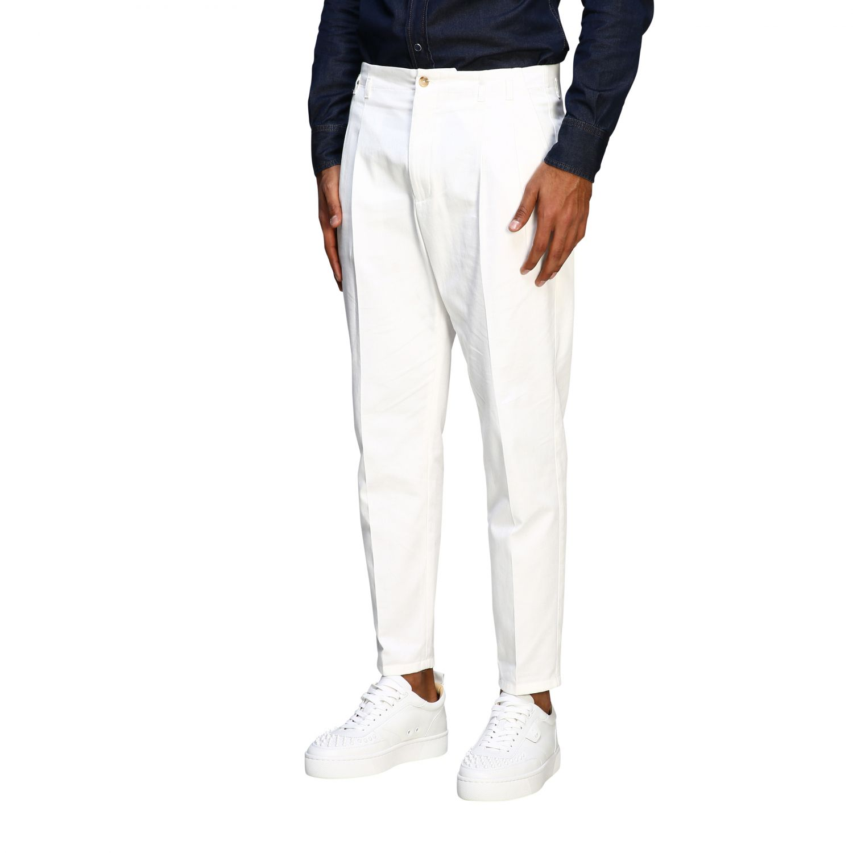 Pants Dolce & Gabbana: Classic Dolce & Gabbana trousers with logo white 3