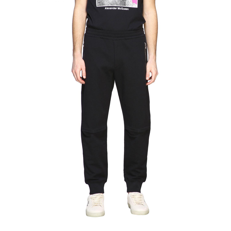 Pantalón Alexander Mcqueen: Pantalón hombre Alexander Mcqueen negro 1