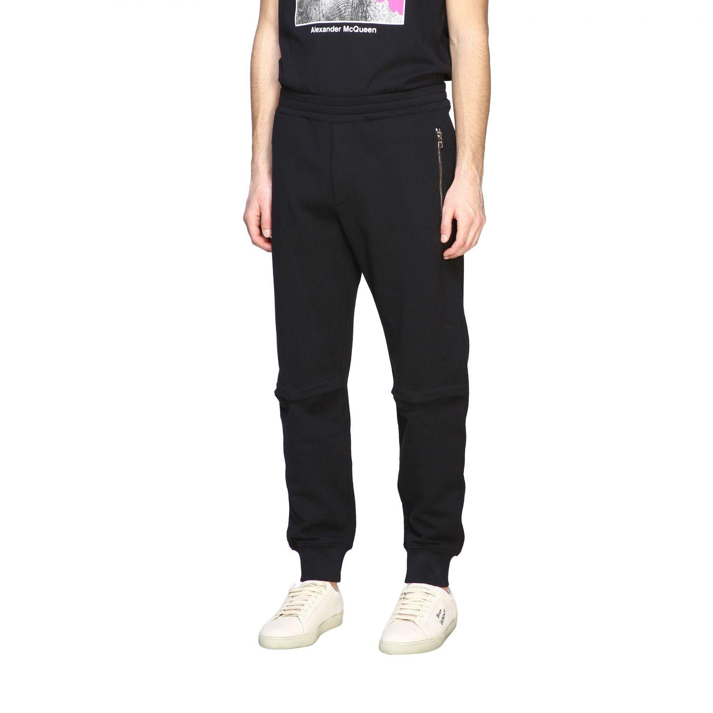 Pantalón Alexander Mcqueen: Pantalón hombre Alexander Mcqueen negro 4