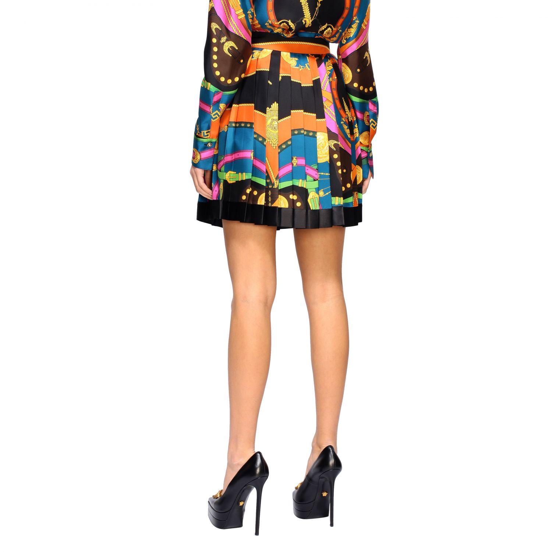 Versace Faltenrock bunt 3