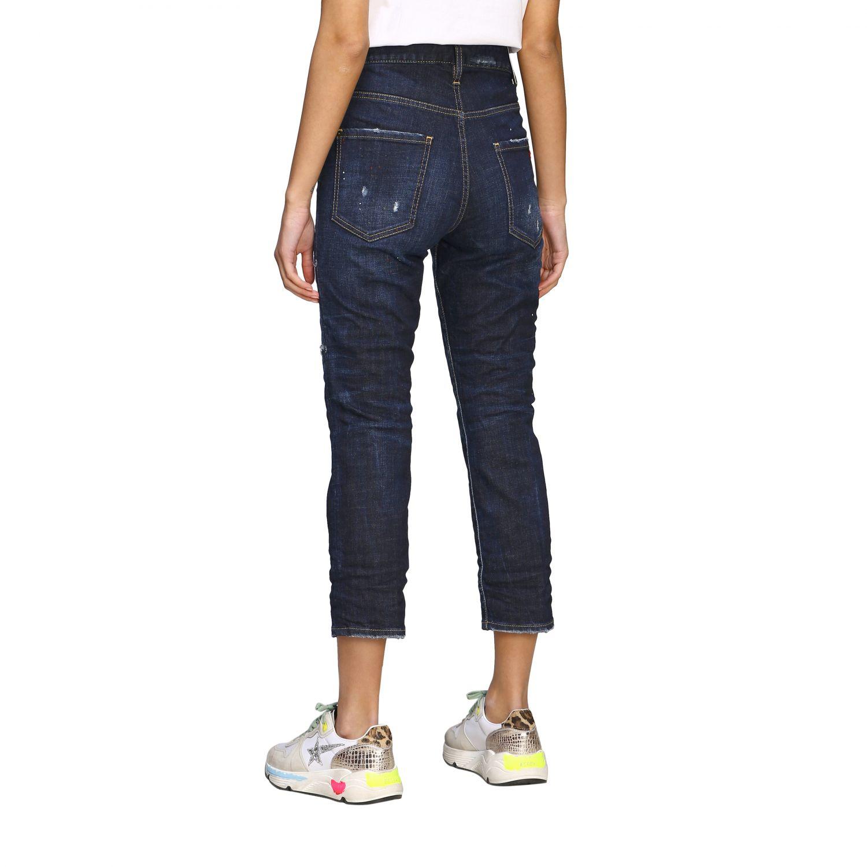 Jeans Dsquared2 regular fit avec déchirures bleu 3