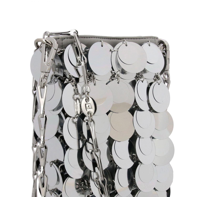 Crossbody bags women Paco Rabanne silver 4