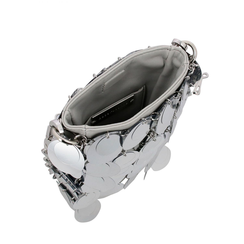 Crossbody bags women Paco Rabanne silver 5