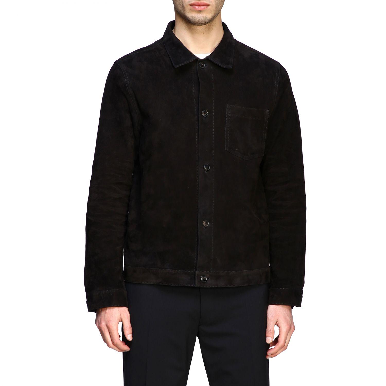 Куртка Ami Alexandre Mattiussi: Куртка Мужское Ami Alexandre Mattiussi черный 1