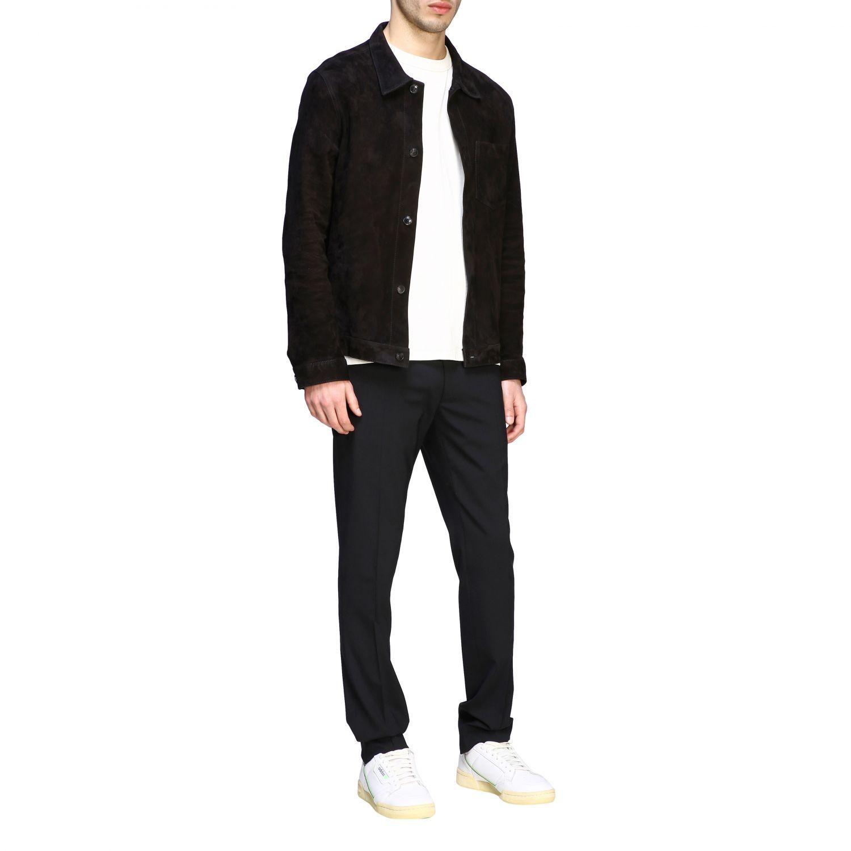 Куртка Ami Alexandre Mattiussi: Куртка Мужское Ami Alexandre Mattiussi черный 2