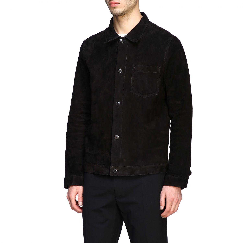 Куртка Ami Alexandre Mattiussi: Куртка Мужское Ami Alexandre Mattiussi черный 4