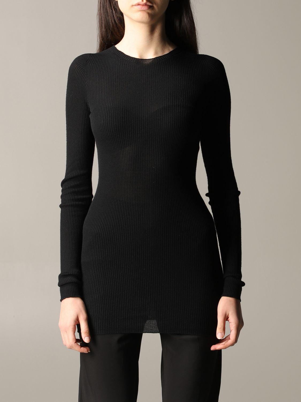 Pullover damen Rick Owens schwarz 1