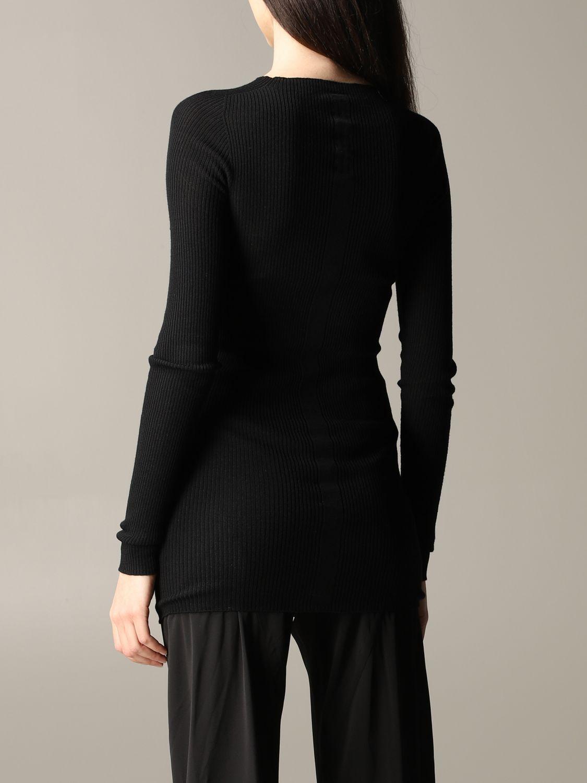 Pullover damen Rick Owens schwarz 3