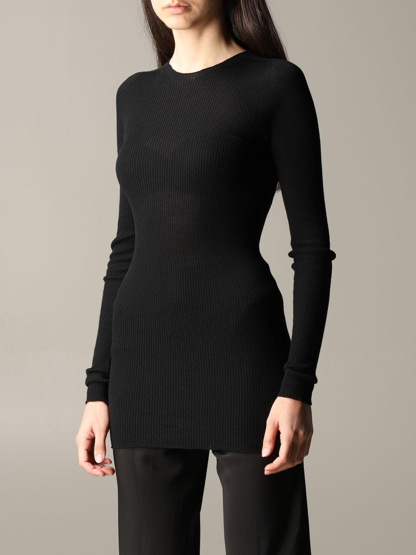Pullover damen Rick Owens schwarz 4