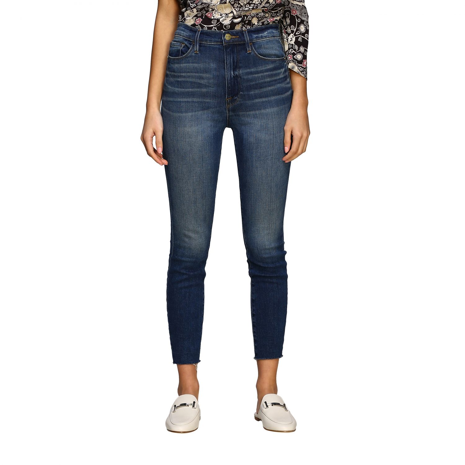 Jeans women Frame blue 1
