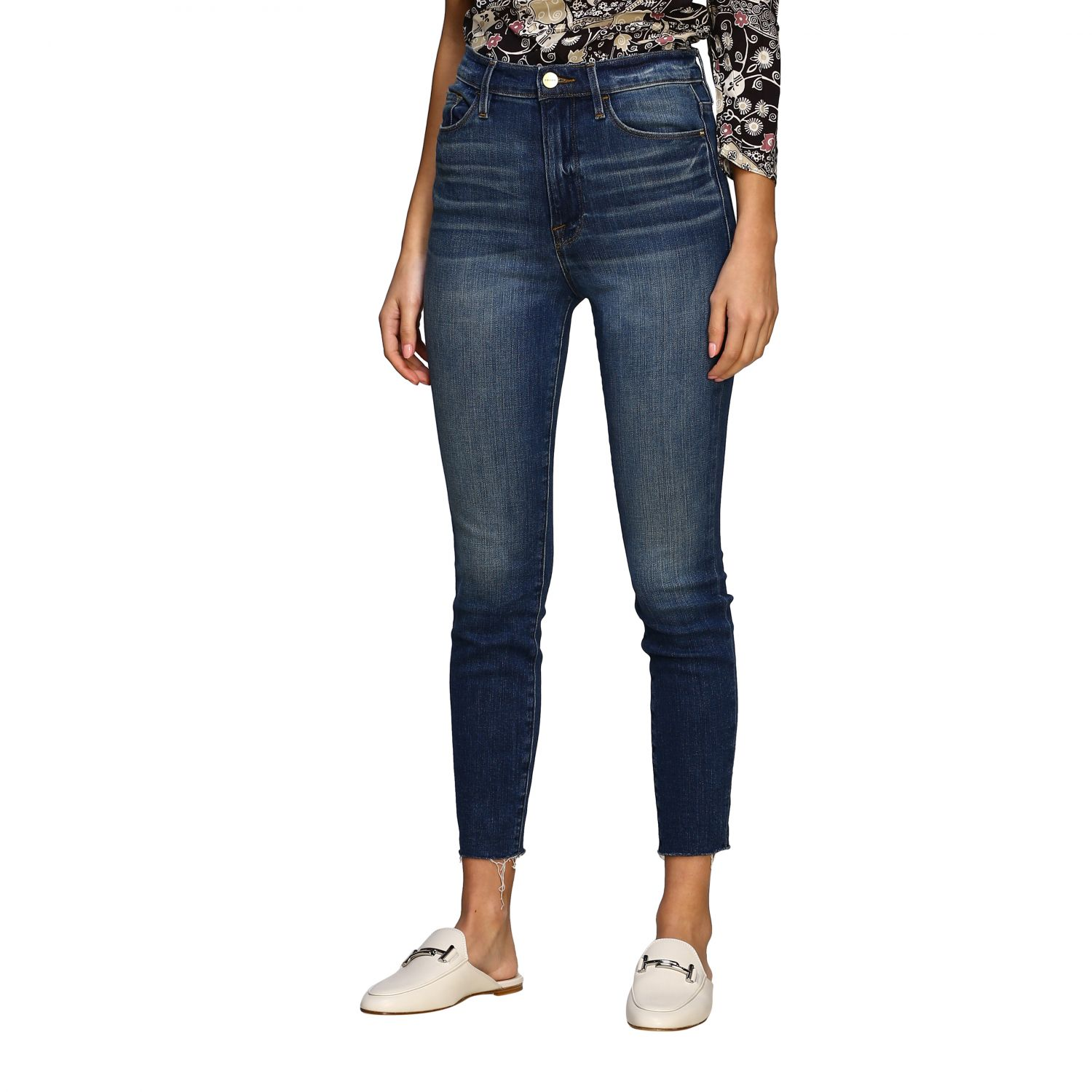 Jeans women Frame blue 4