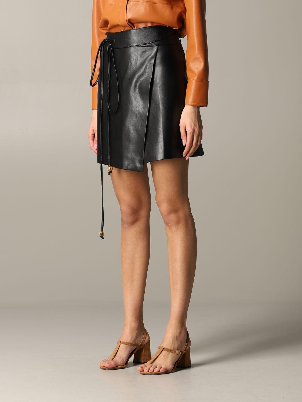 Skirt Nanushka: Skirt women Nanushka black 4