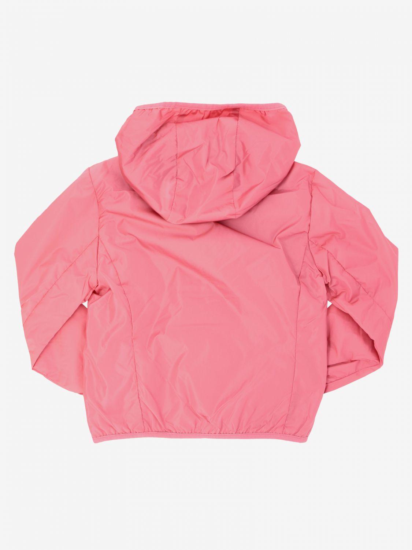 Save The Duck Jacke mit Kapuze und Reißverschluss pink 2
