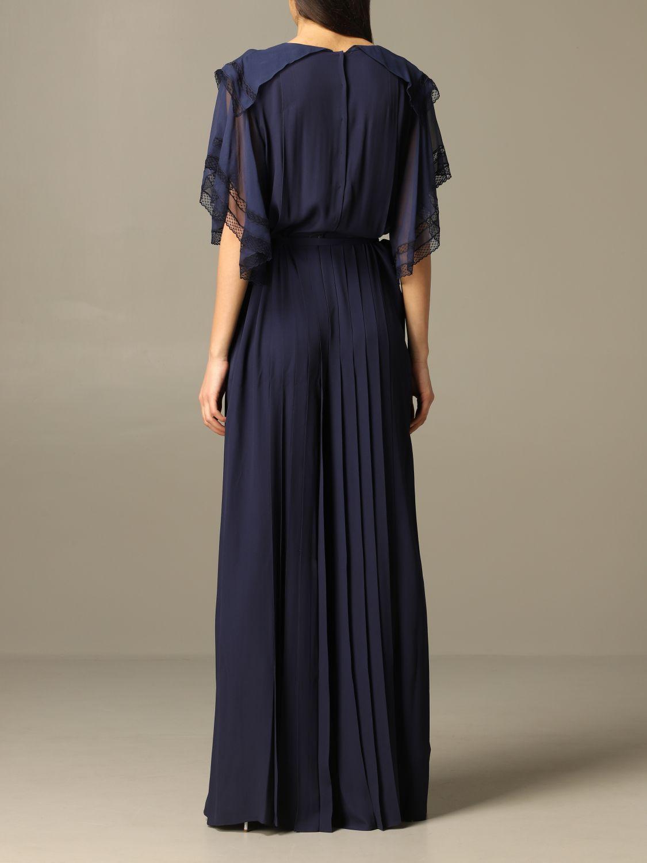 连衣裙 Alberta Ferretti: 连衣裙 女士 Alberta Ferretti 蓝色 2