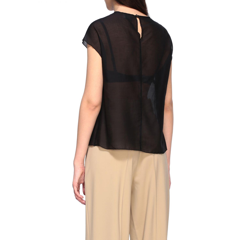 Top Alysi: T-shirt women Alysi black 3