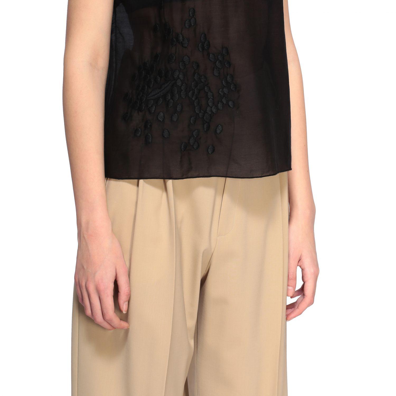 Top Alysi: T-shirt women Alysi black 5