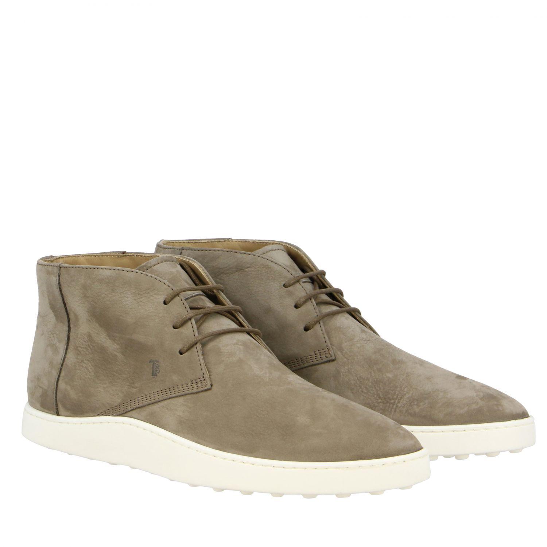 Tod's Sneakers aus Wildleder taubengrau 2