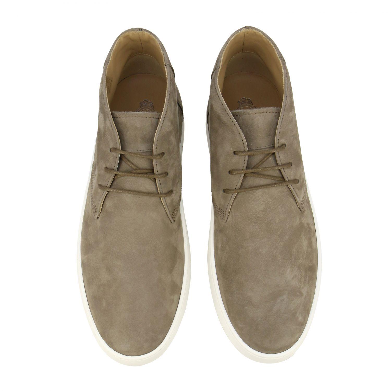 Tod's Sneakers aus Wildleder taubengrau 3